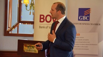BOV & the Gozo Business Chamber discuss new Family Business Act