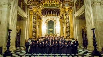 The Emanuel Choir from the UK in concert at Xaghra Basilica