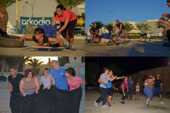 Gozo General Hospital teams in Giochi - It's a Knockout!