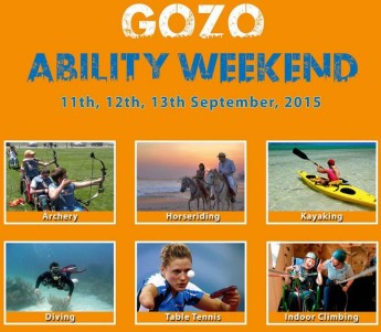 Gozo Ability Weekend: Full of fun & activities adaptable to all abilities