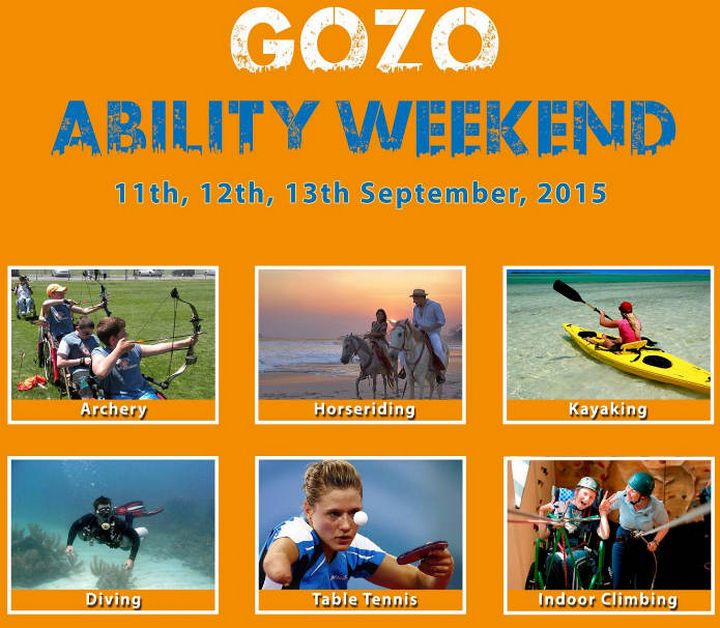 Gozo Ability Weekend: Activities adaptable to all abilities with Inspire Malta