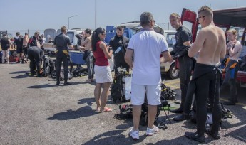 Hydration safety campaign for divers held at Cirkewwa