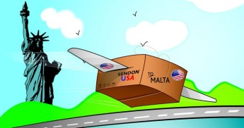 MaltaPost's SendOn launches a new hub in the USA