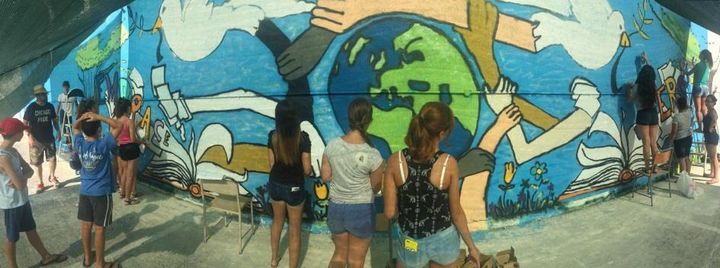 Gozo news com for American mural project