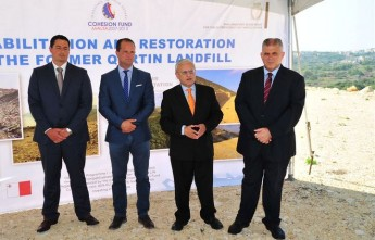 Gozo's rehabilitated Qortin site, hailed a great environmental success