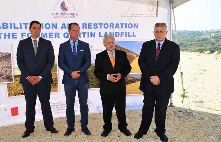 Gozo's rehabilitated Qortin site, hailed a great environmental success
