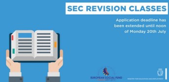 Application deadline extended until Monday for SEC revision classes