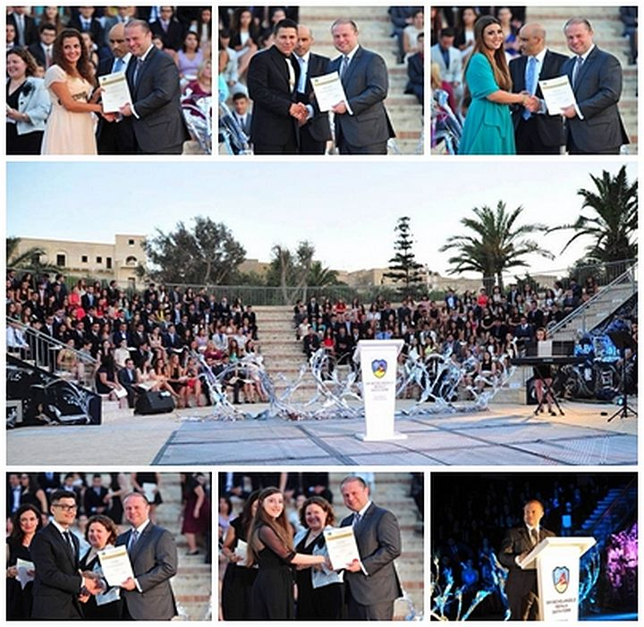Prime Minister presents graduation certificates at Gozo Sixth Form