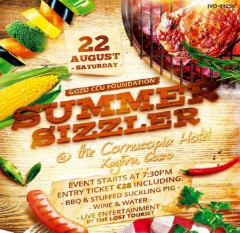 Enjoy a Summer Sizzler evening in aid of the Gozo CCU Foundation