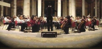 The Stoneleigh Youth Orchestra concert in St George's Square, Victoria