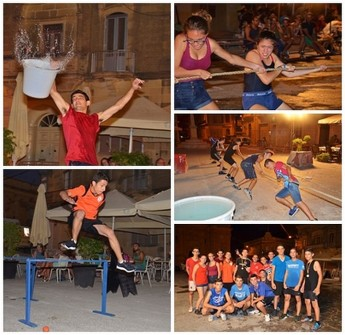 Teams from Xaghra take part in Giochi – it's a knockout games
