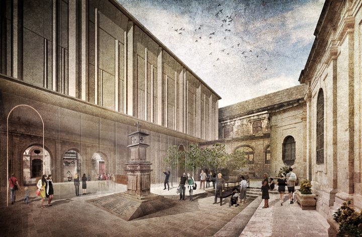 St John's Co-Cathedral museum project - Dr Philip Farrugia Randon
