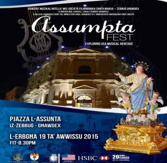 'AssumptaFEST: Concert by the Santa Marija Band of Zebbug Gozo