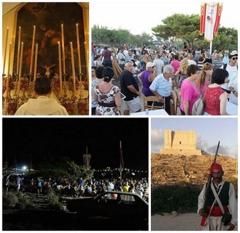 Santa Marija Tower Open Day & Comino Feast attract large crowds