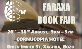Faraxa 5-day Book Fair at the Cornucopia Hotel in Xaghra