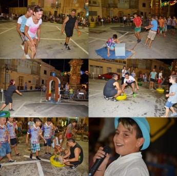 Giochi - it's a knockout held at Zebbug Gozo during Festa week