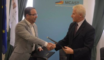 MCAST and the Malta Air Traffic Services sign a MoU