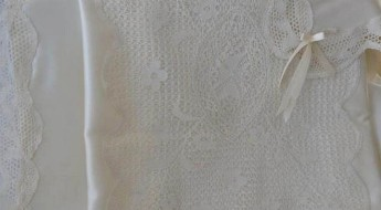 Summer blanket of Maltese lace gifted to Princess Charlotte