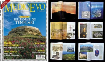 Gozo Citadel featured in prestigious Italian magazine MEDIOEVO