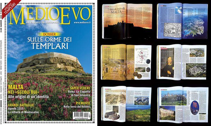 Gozo Citadel featured in prestigious Italian magazine MEDIOEVO