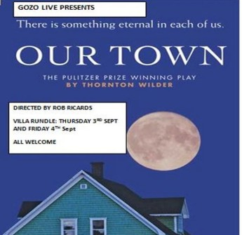 Gozo Live summer production of 'Our Town' at the Villa Rundle