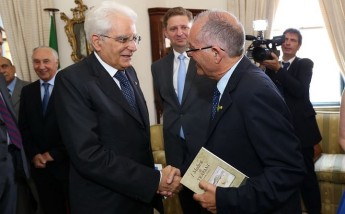 Cassola book on Siculo-Maltese collaboration presented to Italian President