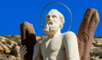 Wirt Ghawdex completes restoration of Sant' Indrija statue in Xlendi