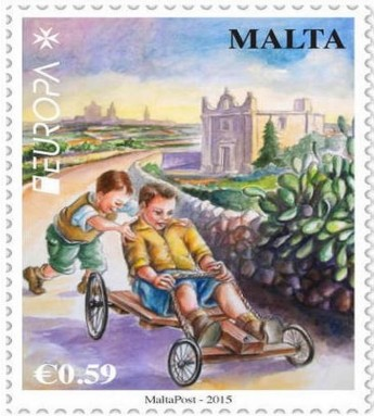Vote for the Malta Stamp in the EUROPA competition - The Cart