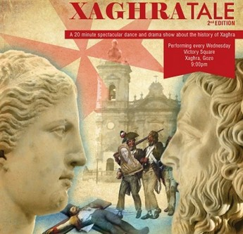 Xaghra Tale takes the audience on an eventful historical journey