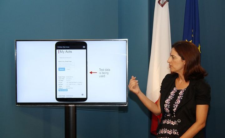 MyActs - A new electronic service launched by the Governmen