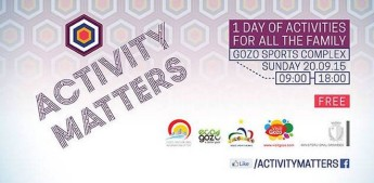 Activity Matters - Fun for all the family in Gozo next Sunday
