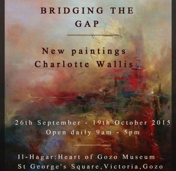 Bridging the Gap: Exhibition by Chalotte Wallis at Il-Hagar museum