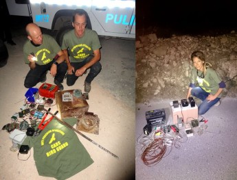 Massive bird trap found on Gozo, clampdown on illegal bird callers - CABS