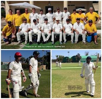 Arora's maiden century is the highlight for Marsa Cricket Club