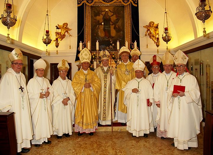Episcopal Ordination of Fr George Bugeja OFM held at Ta' Pinu