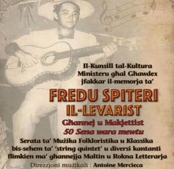Evening of Gozitan folklore & music in memory of Fredu Spiteri