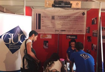 GUG opens information stand at KSU's Freshers Week 2015