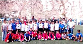 Nursery team from Ghajnsielem FC participates in Tolfa tournament