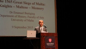 The Great Siege of 1565 commemorated in the USA with lecture & exhibition