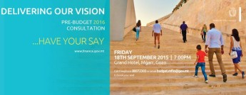 Have Your Say - Pre-Budget consultation meeting in Gozo