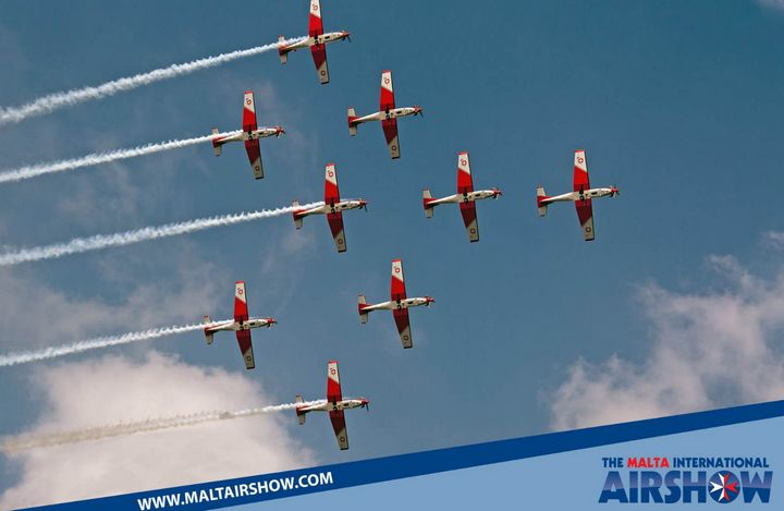 Malta International Airshow offers a great lineup of flying & static displays
