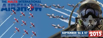Malta International Airshow 23rd edition takes place this weekend