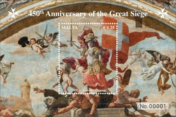 MaltaPost commemorates the 450th anniversary of the Great Siege