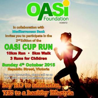 OASI Foundation Cup Run 2015: Road Run, Fun Walk and Children's Run