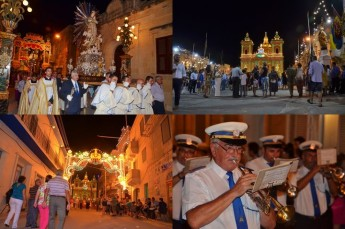 The feast of the Nativity of Our Lady celebrated in Xaghra