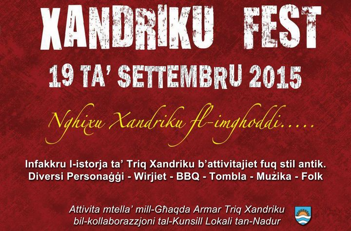Take a journey through history of one street in Nadur: Xandriku Fest