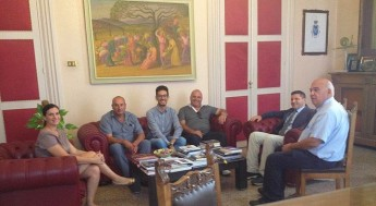 Xewkija delegation pay a courtesy visit to Ragusa in Sicily