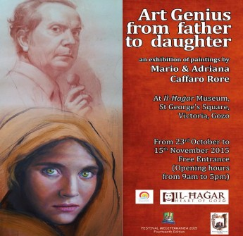 Art Genius from Father to Daughter: Mario & Adriana Caffaro
