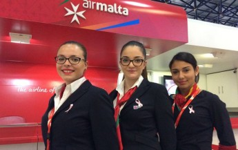 Air Malta assists Europa Donna Malta  Breast Care Support Group
