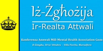 Annual conference this month of the Mental Health Association Gozo